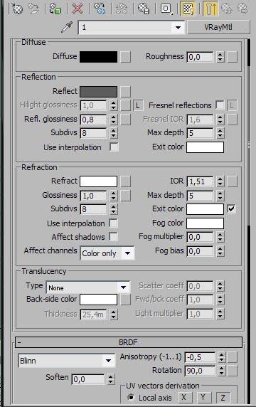 Как сделать стекло в 3D Max и V-Ray? Уроки 3D Max для начинающих